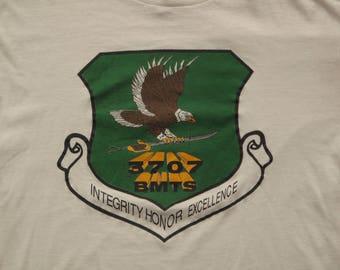 vintage Air force training t shirt