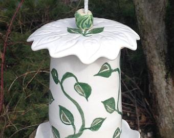 Climbing Ivy Birdfeeder    #birdfeeder #ivy #garden #yard