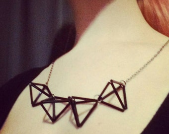Fun with geometry necklace