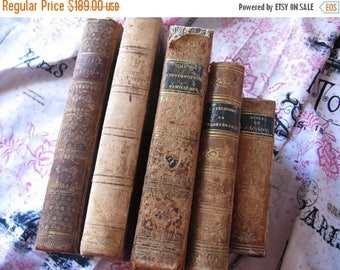 Spring Clearance SaLe Antique French Books Paris Apartment Cottage Nordic French Chic Religion Nordic French