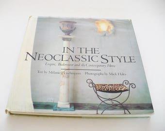 Interior Design Book Neoclassic Style Empire Biedermeier And The Contemporary Home