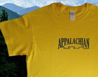 Appalachian Trail Tshirt {foot prints}