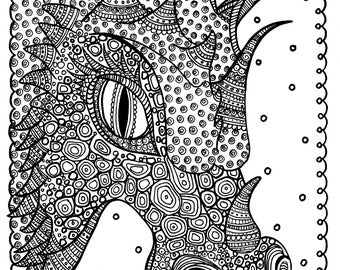 fun coloring books and art for all ageschubbymermaid on etsy