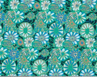 Daisy Shine in Dew Fabric from the True Colors Collection by Amy Butler - 1 Yard