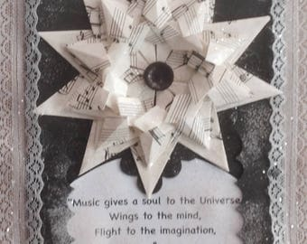 Gift for Music Lovers Music Quote Wall Decor