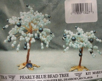 TR-5 Pearly Blue Bead Tree