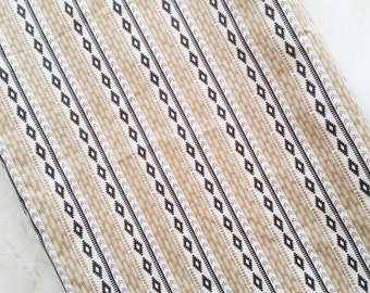 Tribal changing pad cover, adventure stripe, conoured changing pad cover