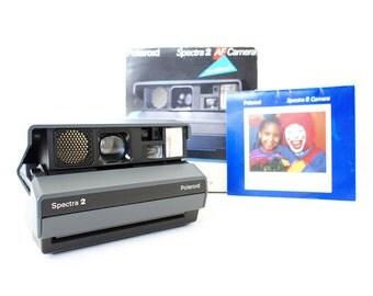 Polaroid Camera Spectra 2 w/ Original Box and Manual  - Film Tested Working