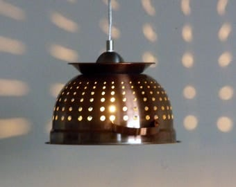 Kitchen Colander Light, perfect for over the island or kitchen table.