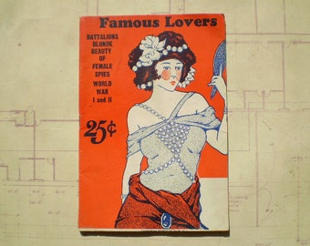 Famous Lovers - 1949 - Battalions Blonde Beauty of Female Spies - Published by Max Stein