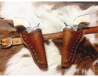 Kids Leather Holster- Right, Left, and Belt
