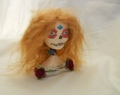 Art Doll Bust - Day of the Dead - Camellia