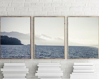 New! Art, Coastal Photography, 3 Piece Print set, Art Prints, Ocean Scene, Wall Decor, Wall Art, Three 11x14 or Larger Prints