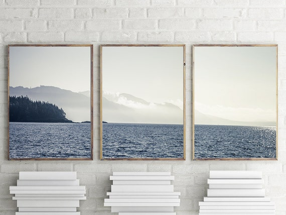 New! Art, Coastal Photography, 3 Piece Print set, Art Prints, Ocean Scene, Wall Decor, Wall Art, Three 11x14 or Larger Prints