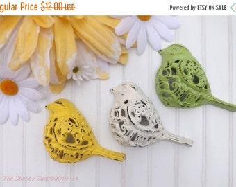 HOLIDAY SALE Bird Decor / Filigree Bird /Shabby Chic Decor / Nursery Wall Decor / Whimsical