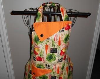 Market Fresh Vegetables Women's Apron