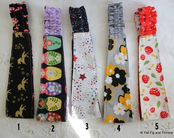 Fabric  Headband Girls Reversible Hairband -Pick one