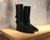 Reserved for Meri Gallo - Dollhouse size ladies dressage boots