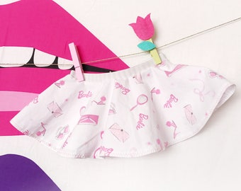 Barbie girl princess newborn baby circle twirly skirt