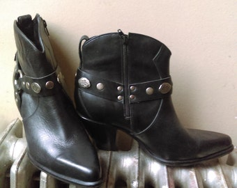 Western Durango ankle boots.