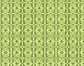 Quilting Fabric - Riley Blake Halle Rose - Green - 1 yard