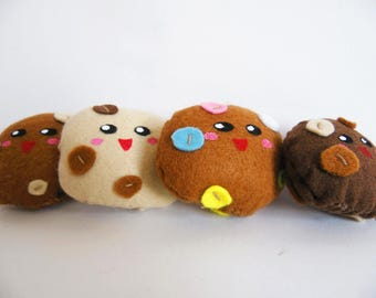 Cookie Plush Brooch