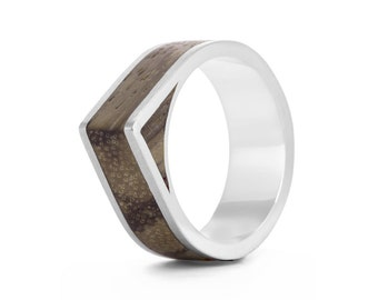 Native Edge - geometric wood rings UK