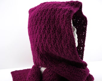 Woman's Hooded Scarf