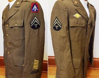WWII 5th Army Uniform Jacket