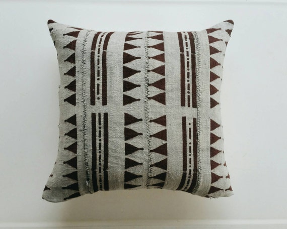 grey and brown throw pillows grey and brown mudcloth pillow cover gray boho throw pillow 6951