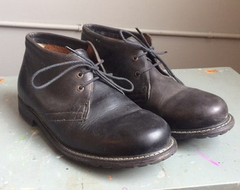 Men's Timerland Chukka Boot Sized 10 Black Leather