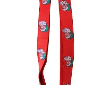 Vintage Santa Claus Suspenders from West Germany