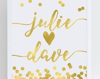 Wedding Personalized Name Sign, Wedding Name Signs, Custom Name Signs Wedding, Personalized Signs Wedding, Wedding Personalized Sign