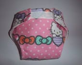 Baby Doll Diaper - Size Small - adjustable for 11-12 inch dolls(length)and waists 8 to 12 inches