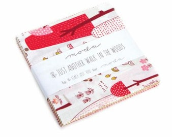 Just Another Walk in the Woods Charm Pack 20520PP by Stacy Iset Hsu for Moda
