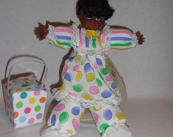Benita, one of a kind African American Black Easter collectible doll
