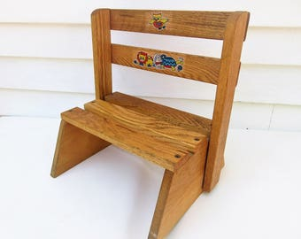 Folding Step Stool Etsy