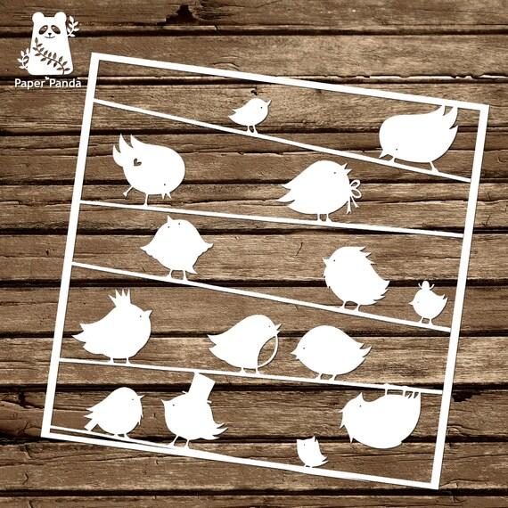 Paper panda papercut diy design template robins from paper panda papercut diy design template robins from paperpandapapercuts on etsy studio maxwellsz