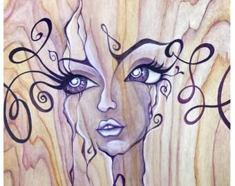 """Print: """"A Girl Has No Name""""  by ElainaSoto"""