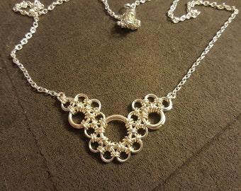 Elegant Metal Lace