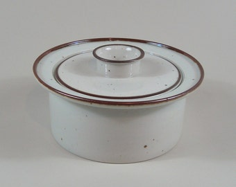 Niels Refsgaard Dansk Brown Mist Covered Casserole Denmark