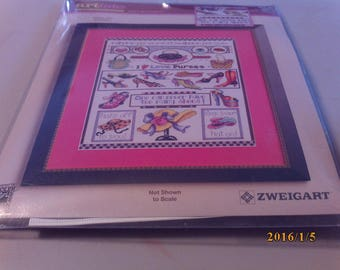 Counted Cross Stitch (A Gal's Best Friend)