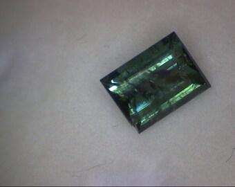 Paraiba Tourmaline Emerald Facet