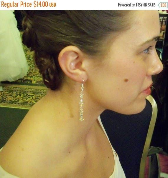 SAVE NOW Earrings Handmade Swarovski Crystal Dangle Bridal Party Jewelry Wedding Jewellery Gift Guide