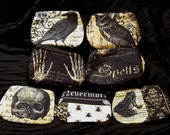 nevermore purses choice of print and size - UK seller