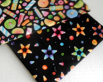 Candy Toss Fabrics- Two Yards- Free Shipping to US and Canada