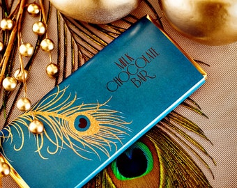 Peacock Wrap - Printable Decorations - PERSONALIZED