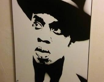 Jay Z (b&w)