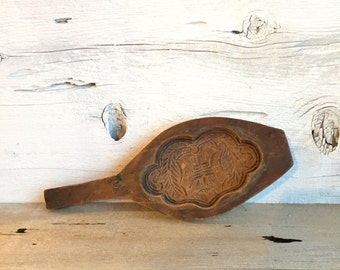 Wood butter mold. Wood soap mold.