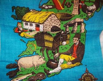 Irish linen tea towels, pure linen towels, made in Ireland